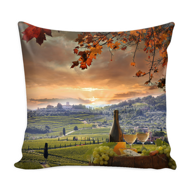 Chianti Tuscany Pillow Cover with Insert