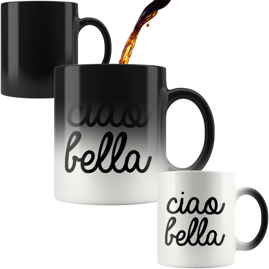 Ciao Bella Color Changing Mug