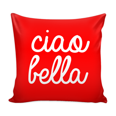 Ciao Bella Decorative Throw Pillow Set (Pillow Cover and Insert)