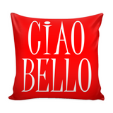 Ciao Bello Decorative Throw Pillow Set (Pillow Cover and Insert)