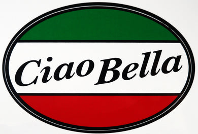 Ciao Bella Decal Sticker