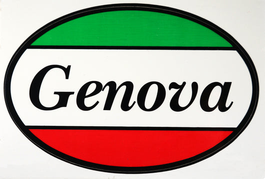 Genova Italy Decal Sticker