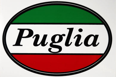 Puglia Italy Decal Sticker