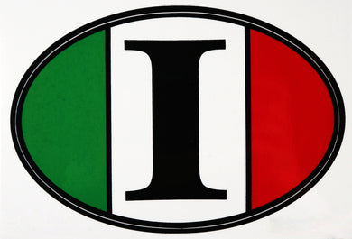 Flag Italy Decal Sticker