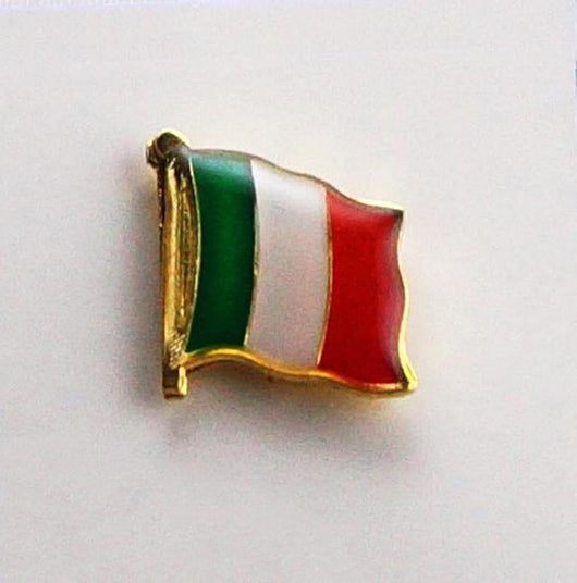 Italian Flag Lapel Pin
