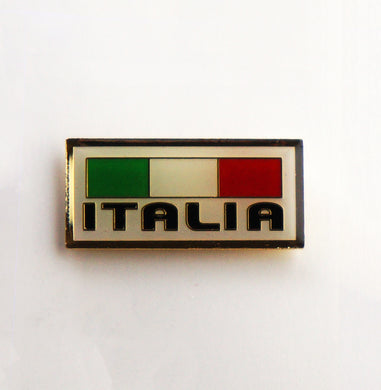 Italia Italian Flag Lapel Pin