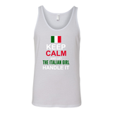 Let The Italian Girl Handle It Canvas Women's Tank