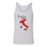 Spilled Wine Canvas Women's Tank