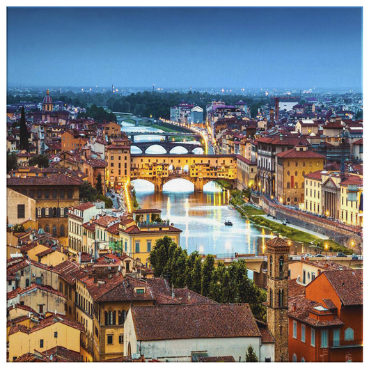 Florence II Wall Art Canvas