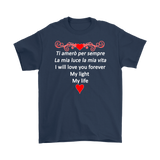 I Will Love You Forever Men's Shirt