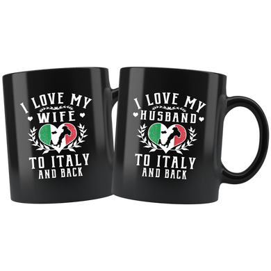 Husband & Wife to Italy and Back 11oz Combo Mug
