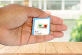 Sicilia Italian Flag Lapel Pin