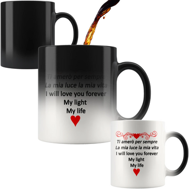 I Will Love You Forever 11oz Color Changing Mug