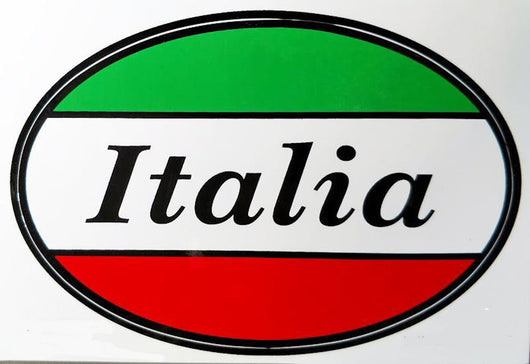 Italia Decal Sticker for Italian Pride