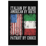 Italian Patriot Canvas Wall Art Portrait