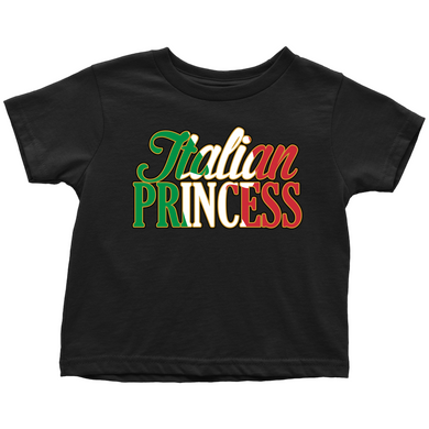 Italian Princess Toddler Shirt