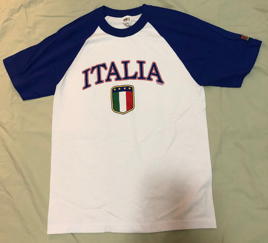 Italian Shield Shirt - Men's M White