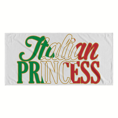 Italian Princess Beach towel