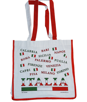 Italy Cities Tote Bag