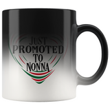 Just Promoted To Nonna Color Changing Mug