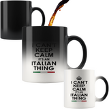 Keep Calm Italian Color Changing Mug