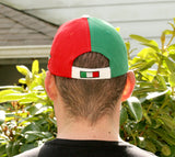 Italia Multi-Color Baseball Cap