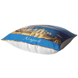 Napoli Blue Pillow Cover with Insert
