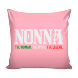 Nonna Pillow Cover with Insert