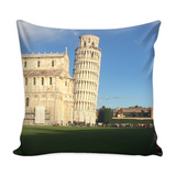 Pisa Decorative Throw Pillow Set (Pillow Cover and Insert)