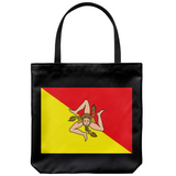 Sicilian Flag Tote Bag