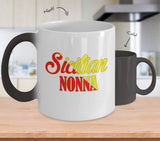 Sicilian Nonna Color Changing Mug