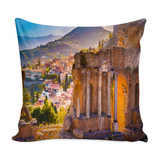 Sicily Decorative Throw Pillow Set (Pillow Cover and Insert)