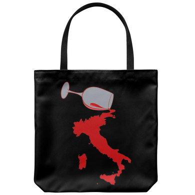 Spilled Wine Tote Bag