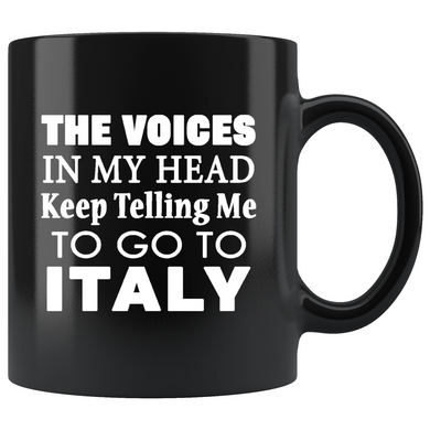 The Voices Black 11oz Mug