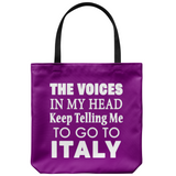 The Voices Tote Bag