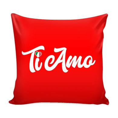 Ti Amo Decorative Throw Pillow Set (Pillow Cover and Insert)