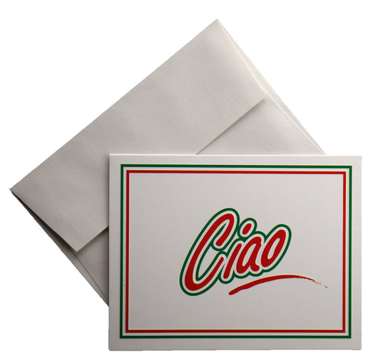 Ciao Note Cards - 8 cards and envelopes