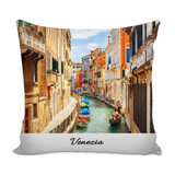 Venice II Decorative Throw Pillow Set (Pillow Cover and Insert)