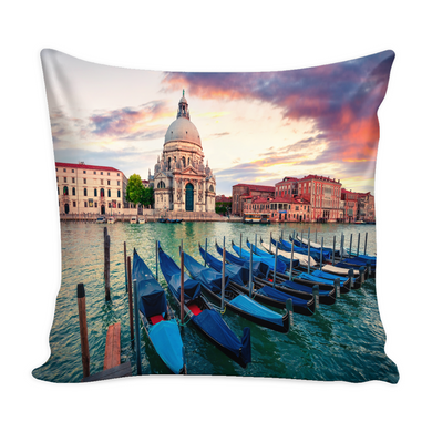 Venice Decorative Throw Pillow Set (Pillow Cover and Insert)