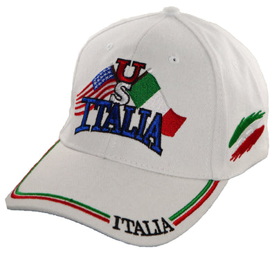 US Italia Baseball Cap in white