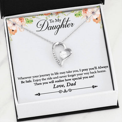 Forever Love Necklace to Daughter from Dad