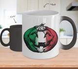 Italian Pumpkin Color Changing Mug