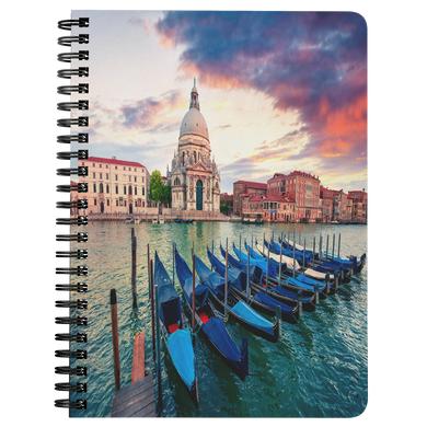 Venice Spiral Bound Notebook