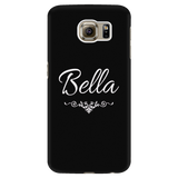 Bella Black Phone Case