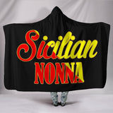 Sicilian Nonna Hooded Blanket