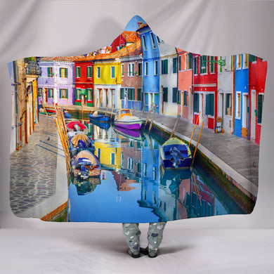 Burano Hooded Blanket