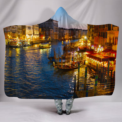 Venice III Hooded Blanket