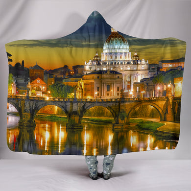 Rome Hooded Blanket