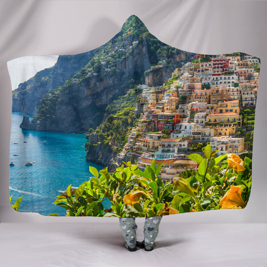 Positano Hooded Blanket