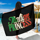 Italian Princess Black Sarong